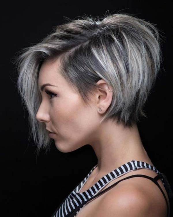 Pixie,bob is a beautiful and unique hair design that you would want to  apply to your cute, short hair. They are quick to achieve and very easy to  maintain.