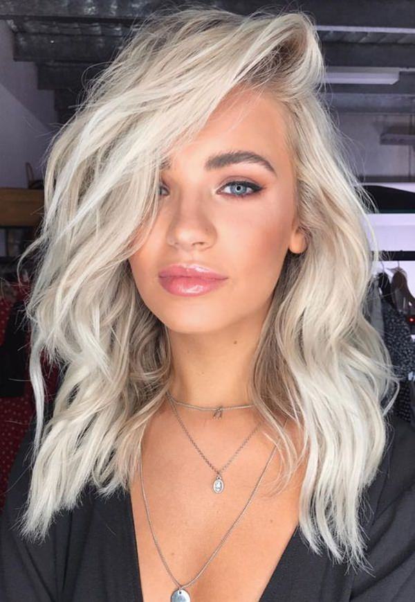 89 Outstanding Platinum Blonde Hair Ideas For 2019 For Your
