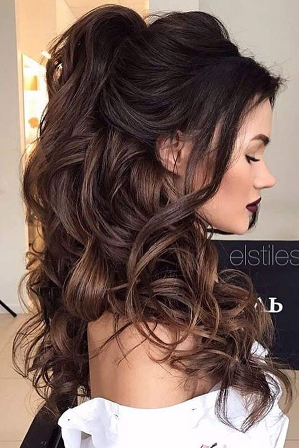 89 Wonderful Prom Hairstyles To Rock Your Next Special Prom Stylying