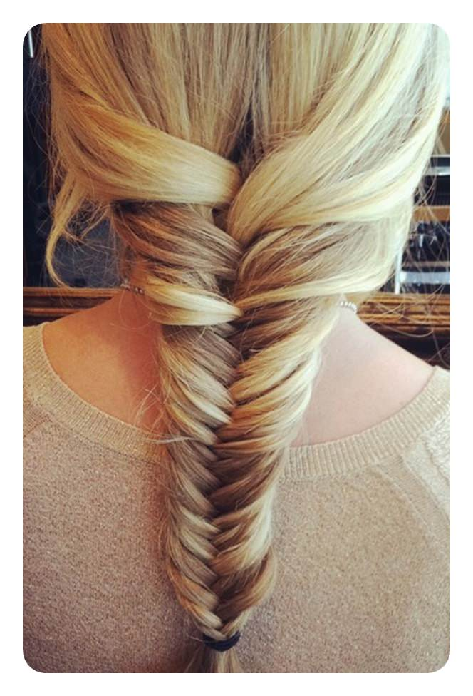 Fishtail Braid- a 104 of hot and happening hairstyles for this year