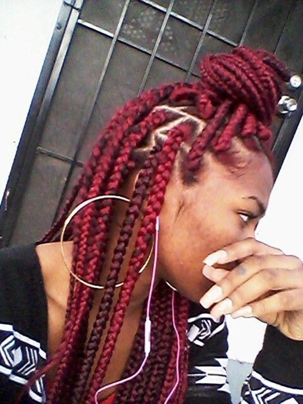 123 Outstanding Box Braids Everybody Would Fall In Love