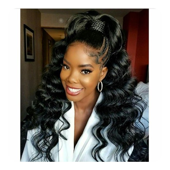 Weave Ponytail Which Is Going To Rock Your Parties And Proms