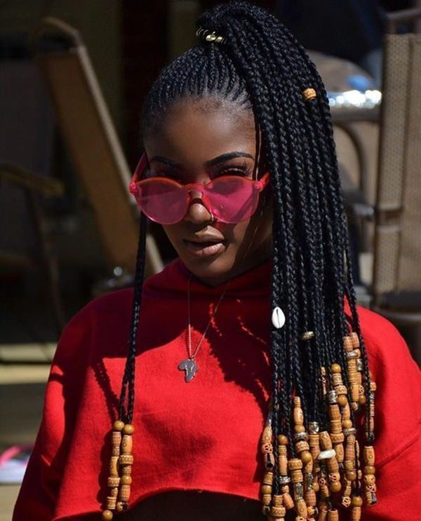 83 Gorgeous Fulani Braids You Should Try This Year , Stylying