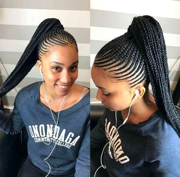 121 Enticing African Braids That Will Surely Blow Your